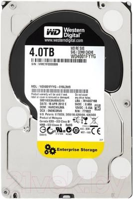 Жесткий диск Western Digital RE 4TB (WD4001FYYG)