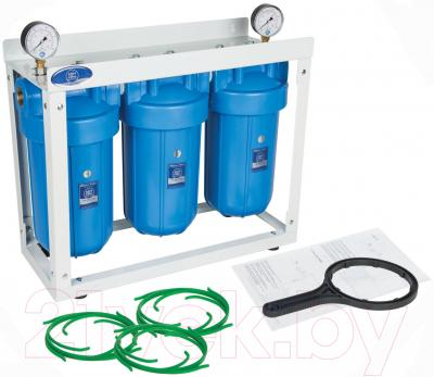 Блок коллекторов Aquafilter HHBB20B (3шт) - общий вид