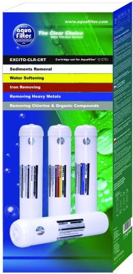 Картридж Aquafilter EXCITO-CLR-CRT (4шт) - упаковка