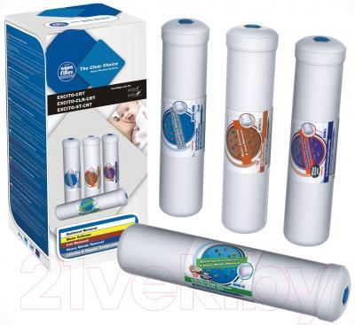 Картридж Aquafilter EXCITO-CLR-CRT (4шт) - общий вид