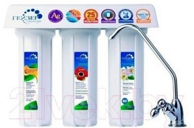 Фильтр питьевой воды Гейзер 3ИВ(Ж) Люкс
