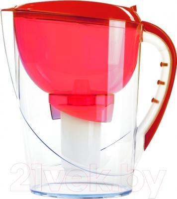 Фильтр питьевой воды Гейзер Аквариус Ж (красный)