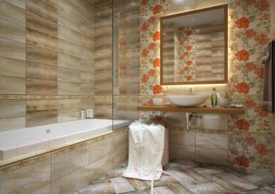 Плитка для стен ванной PiezaRosa Антарес 134461 (200x450, бежевый)
