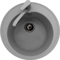 Мойка кухонная Polygran F-08 (серый) -
