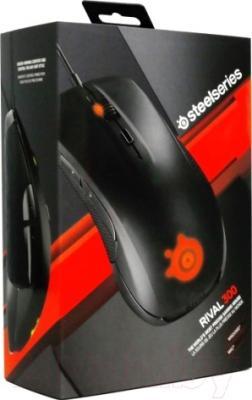 Мышь SteelSeries Rival 300 Black (62351)