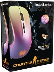 Мышь SteelSeries Rival 300 CS:GO Fade Edition (62279)