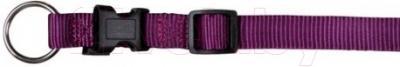 Ошейник Trixie Premium Collar 20148 (XS-S, ягодный)