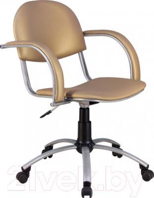 Кресло офисное Metta MA-70 Al (экокожа, бежевый)
