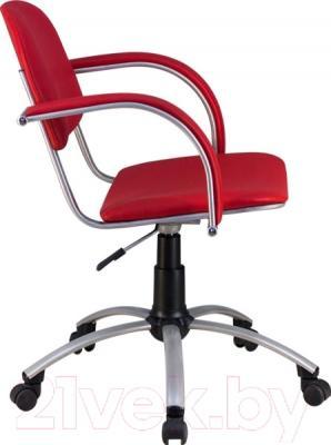 Кресло офисное Metta MA-70 Al (экокожа, красный)