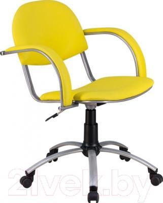 Кресло офисное Metta MA-70 Al (экокожа, желтый)