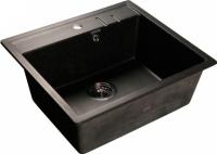 Мойка кухонная GranFest Quadro GF-Q560 (черный) -