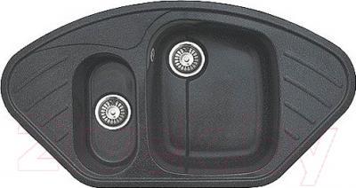 Мойка кухонная GranFest GF-C960E (черный)