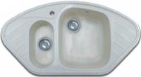 Мойка кухонная GranFest Corner GF-C960E (серый) -