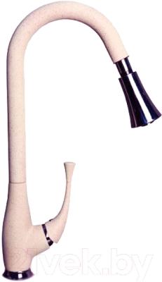 Смеситель GranFest 3773 (розовый)