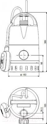 Дренажный насос Grundfos Unilift CC7 (96280968)