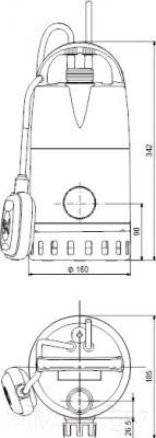 Дренажный насос Grundfos Unilift CC9 (96280970)