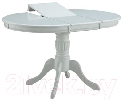 Обеденный стол Домовой DM-T4EX4/AVF (белый)