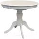 Обеденный стол Домовой DM-T4EX4/AVF (белый) -