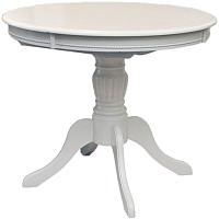 Обеденный стол Домовой OL-T4EX (белый) -