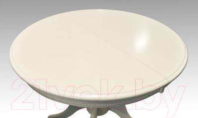 Обеденный стол Домовой OL-T4EX (белый)