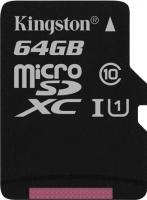 Карта памяти Kingston MicroSDXC UHS-I Class 10 64GB (SDC10G2/64GBSP) -