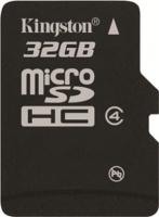 Карта памяти Kingston microSDHC Class 4 32GB (SDC4/32GBSP) -