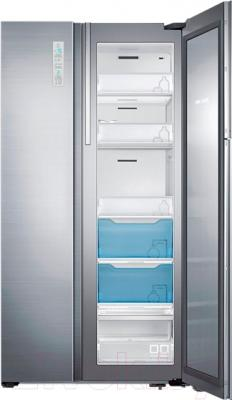 Холодильник с морозильником Samsung RH60H90207F