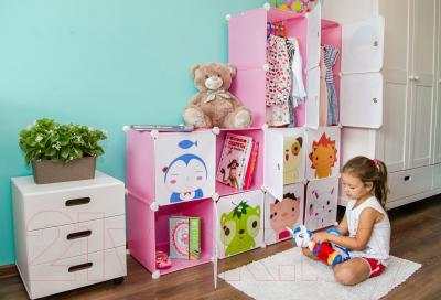 Система хранения Sundays С1201-Р (розовый)