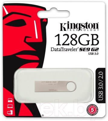 Usb flash накопитель Kingston DataTraveler SE9 G2 128GB (DTSE9G2/128GB)