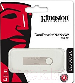 Usb flash накопитель Kingston DataTraveler SE9 G2 16GB (DTSE9G2/16GB)