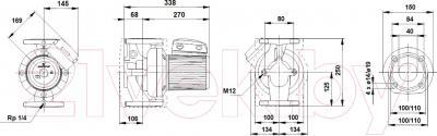 Циркуляционный насос Grundfos UPS 40-180 F (96401977)