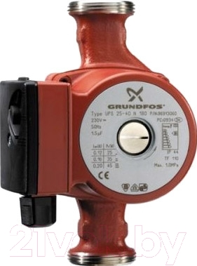 Циркуляционный насос Grundfos UPS 25-60 N 180 (96913085)