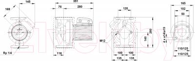 Циркуляционный насос Grundfos UPS 50-180 F (96402136)