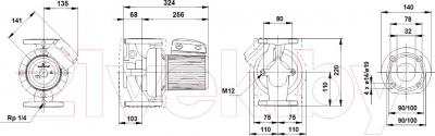Бытовой насос Grundfos UPS 32-120 FB (96401844)