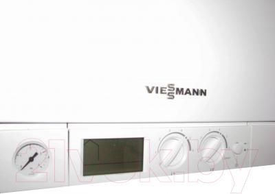 Газовый котел Viessmann Vitopend 100-W WH1D 29 кВт (турбо) - панель управления