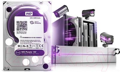 Жесткий диск Western Digital Purple NV 6TB (WD6NPURX)