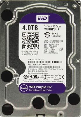 Жесткий диск Western Digital Purple NV 4TB (WD4NPURX)