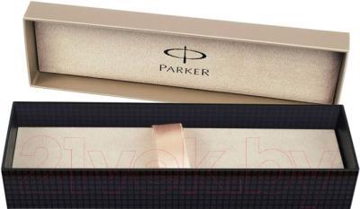 Ручка капиллярная Parker IM Premium Shiny Chrome Chiselled S0976090