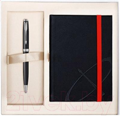Письменный набор Parker Sonnet 07 Matte Black СT 1889089