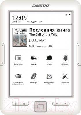 Электронная книга Digma E629W