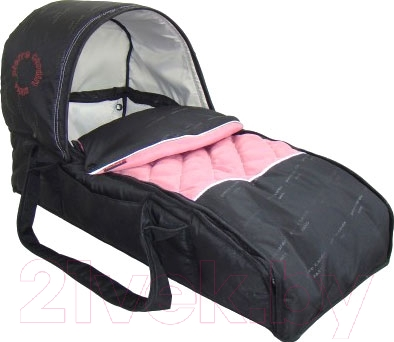 Люлька переносная для коляски Pierre Cardin PS5302 (розовый)