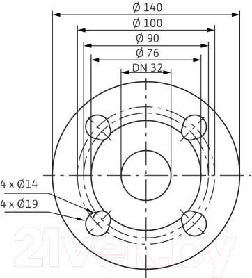 Циркуляционный насос Wilo Stratos-D 32/1-12