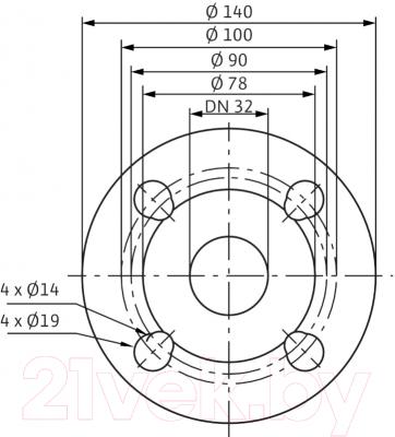 Циркуляционный насос Wilo TOP-SD 32/7 ЕM