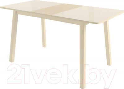 Обеденный стол Mamadoma Тирк (кремовый/кремовый)
