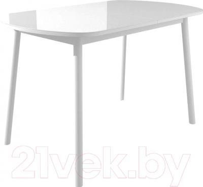 Обеденный стол Mamadoma Раунд (белый/белый)