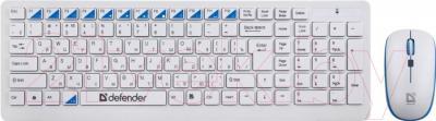 Клавиатура+мышь Defender Skyline 895 Nano W / 45895