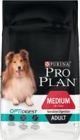 Корм для собак Pro Plan Adult Medium Sensitive Digestion с ягненком (14кг) -