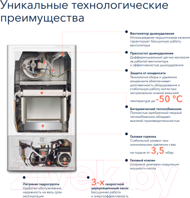 Газовый котел Electrolux GCB 24 Basic Space Fi