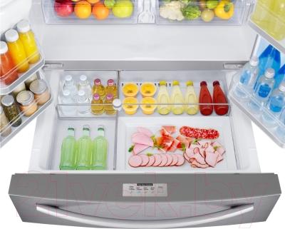 Холодильник с морозильником Samsung RF24HSESBSR