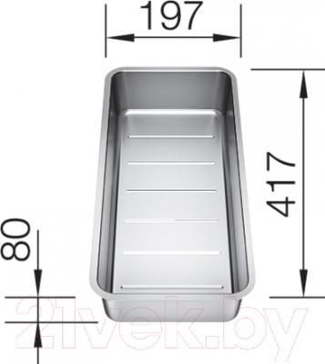 Коландер для мойки Blanco 227692 - размеры